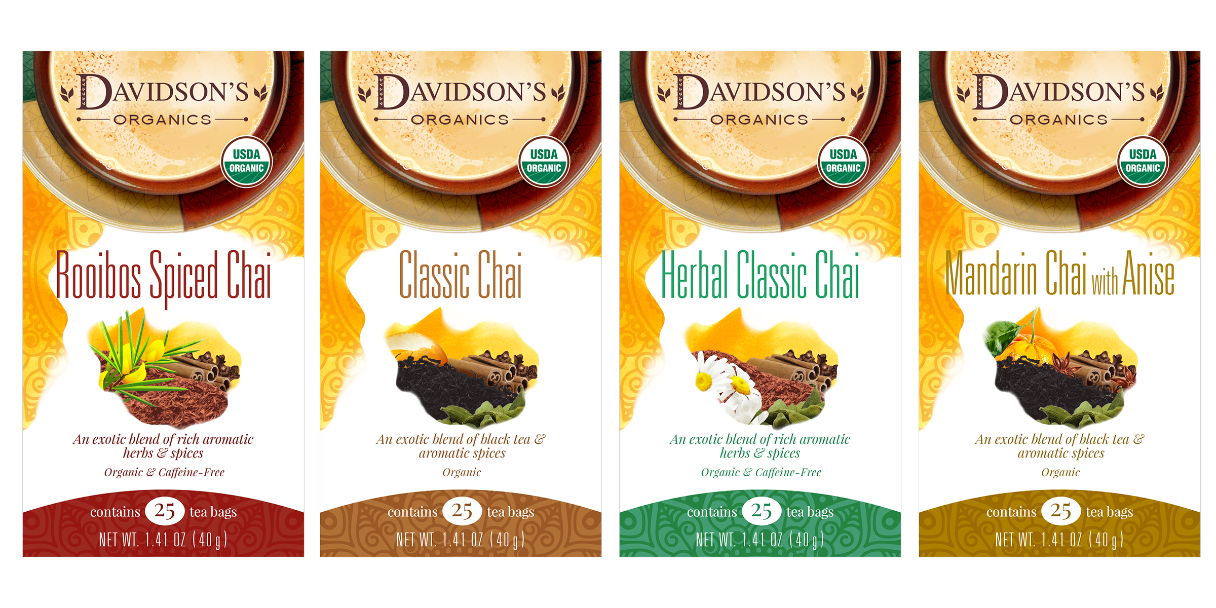 Bulk herbs spices organic organic herbal tea - Category Holiday Teas