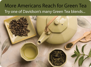 More Americans Reach for Green Tea