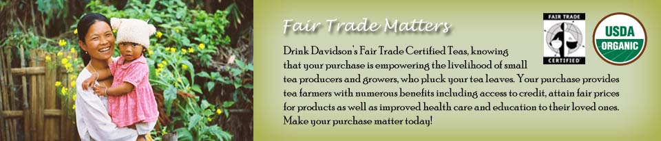 Fair Trade Certified Teas