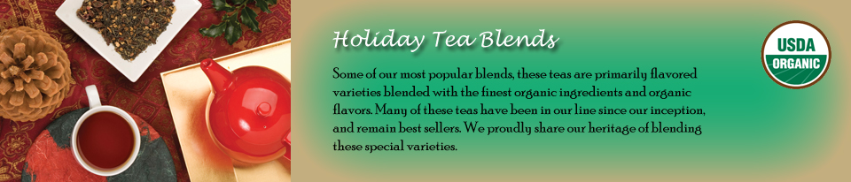 Holiday Tea Blends