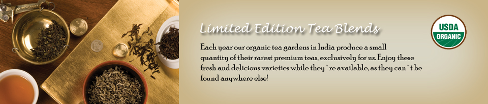 Limited Edition Tea Blends