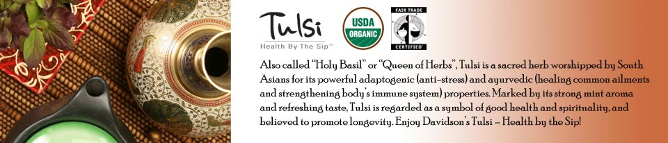 Tulsi Tea Blends