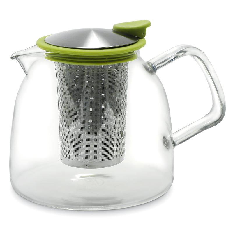 Bell Glass Teapot With Infuser