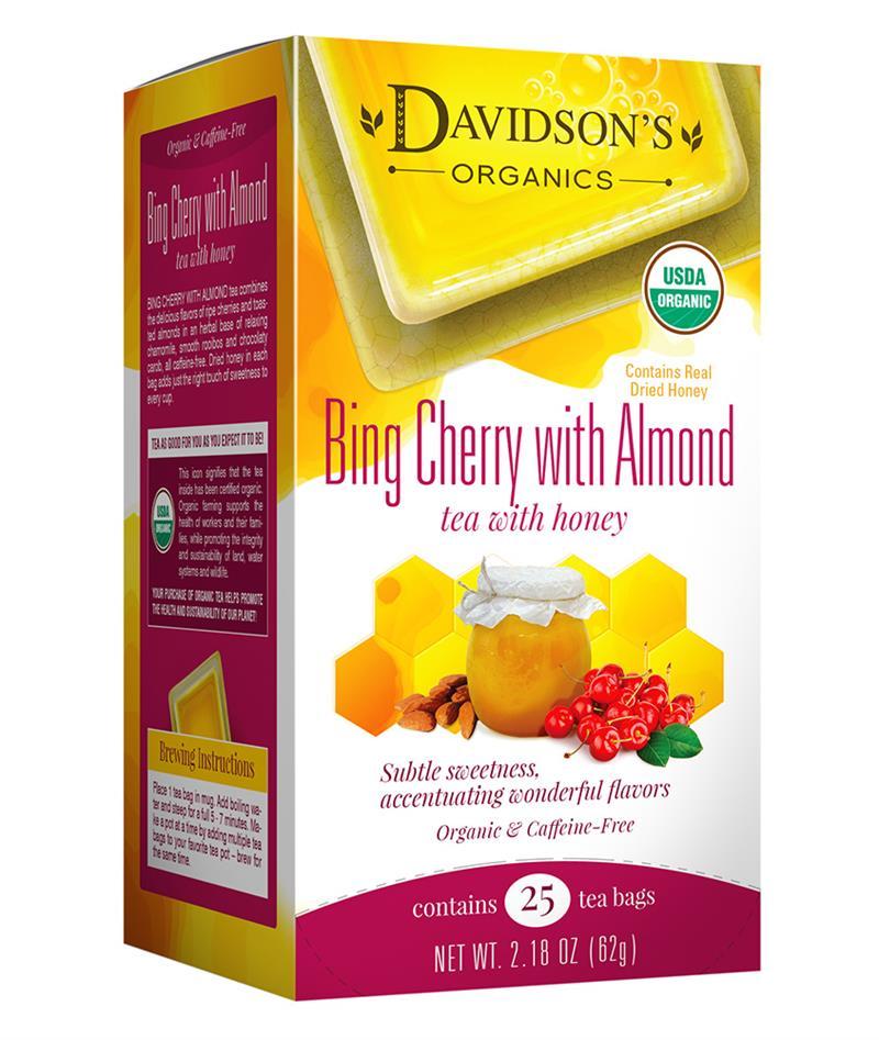 25 30 Www Bing Com: Bing Cherry With Almond Tea Bag