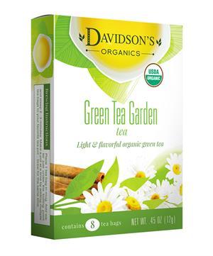 Green Tea Garden Tea Bag