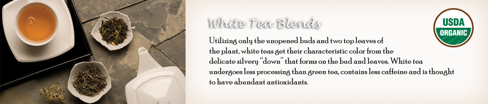 White Tea Blends
